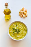 Zucchini soup Royalty Free Stock Photos