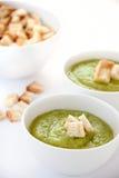 Zucchini soup Stock Image