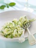 Zucchini Spaghetti Stock Image