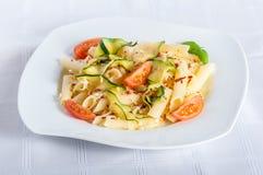 Zucchini stuffed Royalty Free Stock Photo