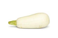 Zucchini su una priorità bassa bianca Immagini Stock