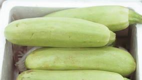 Zucchini sul mercato archivi video