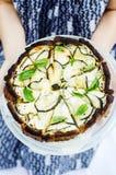 Zucchini tart Royalty Free Stock Image
