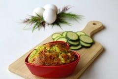 Zucchini tort Obrazy Stock