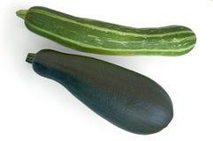 zucchini två arkivfoton