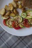 Zucchini variety Stock Images