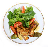 zucchini vegan еды Стоковое Изображение