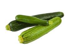 Zucchini verde isolado Fotos de Stock