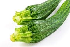 Zucchini  on white background Stock Photography