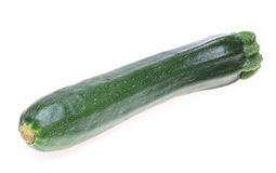 Zucchini in a white background Stock Photography