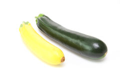 Zucchini in a white background Royalty Free Stock Photography