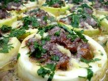 Zucchini z mięsem Obrazy Royalty Free