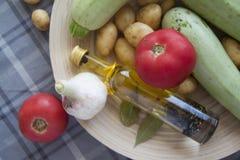 Zucchinimischung Stockbild