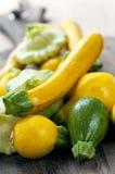 zucchinis Arkivbild