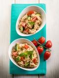 zucchinis risotto κριθαριού Στοκ φωτογραφία με δικαίωμα ελεύθερης χρήσης