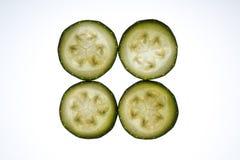 Zucchinischeiben Lizenzfreies Stockfoto