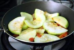 Zucchino affettato Immagine Stock Libera da Diritti