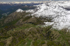 Zuccone Campelli range and Artavaggio upland, Orobie, Italy Stock Photo