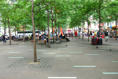 Zuccotti Park Royalty Free Stock Images