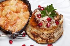 Zuccotto с баклажаном стоковое фото rf