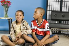 Zuchwali dzieciaki obrazy royalty free
