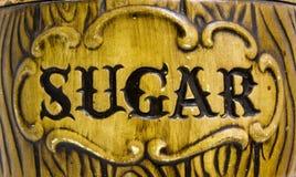 Zucker lizenzfreie stockbilder