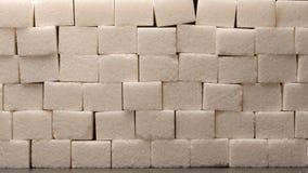 Zucker blockiert Wand - Makroschuß Lizenzfreie Stockbilder