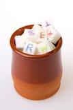 Zucker in der Schale Lizenzfreie Stockbilder