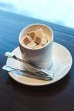 Zucker für Kaffee Lizenzfreie Stockbilder