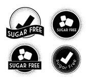 Zucker gibt Design frei Lizenzfreies Stockbild