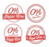 Zucker gibt Design frei Stockfotografie
