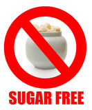 Zucker gibt frei Lizenzfreies Stockfoto