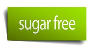 Zucker gibt Zeichen frei stock abbildung