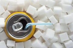 Zucker im Lebensmittel Lizenzfreie Stockfotografie
