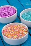 Zucker spritzt Stockfotos