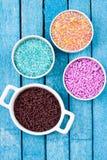 Zucker spritzt Stockbilder