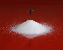 Zucker und Ihre Gesundheit Stockbilder