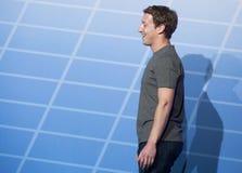 Zuckerberg 002 Zdjęcia Stock