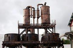 Zuckerfabrik Stockfotografie