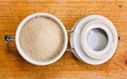 Zuckerglas stockfoto