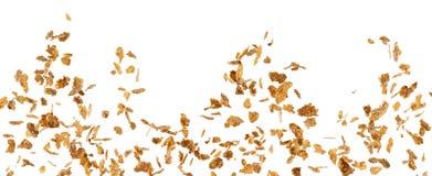 Zuckermaisflockenexplosion stockfoto