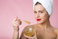Zuckern von Schönheitsbehandlung Lizenzfreies Stockfoto