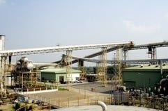Zuckerraffinerie stockfoto