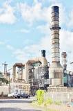 Zuckerraffinerie auf Staat Mauis Hawaii Lizenzfreies Stockfoto