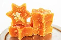 Zuckerrohr-harte Melasse oder Jagrezucker Lizenzfreie Stockbilder
