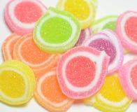 Zuckersüßigkeitshintergründe stockbild