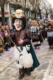 ZueriCarneval Fasnacht Zurich, Switzerland Royalty Free Stock Images