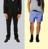 Zufällig und formelle Kleidung Lizenzfreie Stockbilder