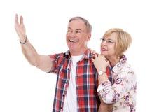 Zufällige kaukasische Paare Lizenzfreie Stockfotos
