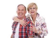 Zufällige kaukasische Paare Lizenzfreie Stockbilder